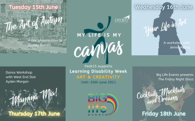 Peak15 gets ARTY for Learning Disability Week 2021